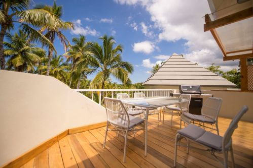 #1 Beautiful 3 bedroom beachfront apartment - Las Terrenas