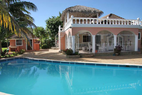 #1 Family Home with 3 Bedrooms and Guesthouse near Cabarete