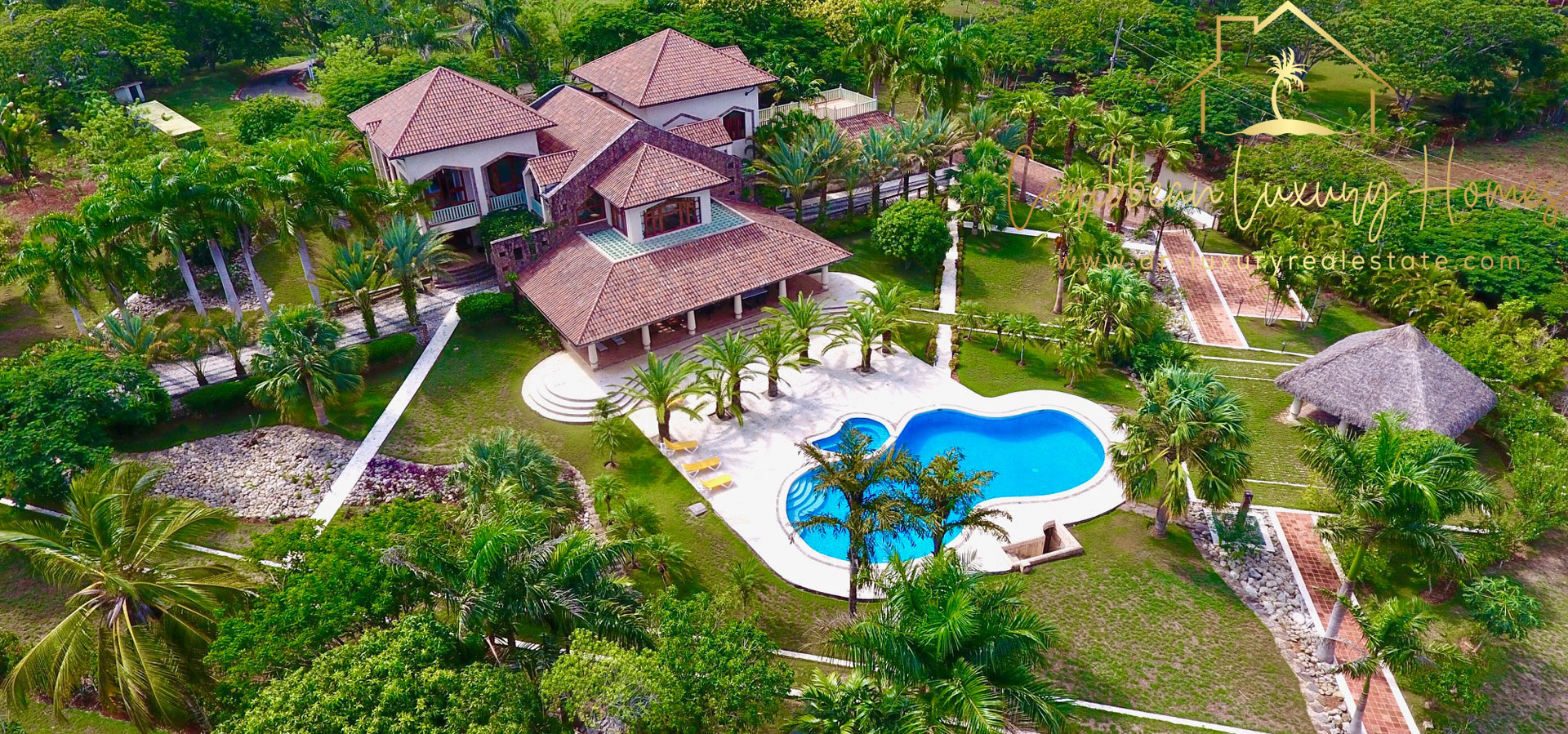 Luxury mansion with  in the Dominican Republic