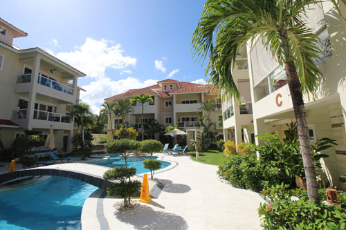 #1 Cabarete condo in gated community close to the beach