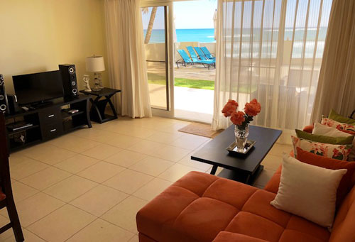 #2 Beachfront Apartment with one bedroom