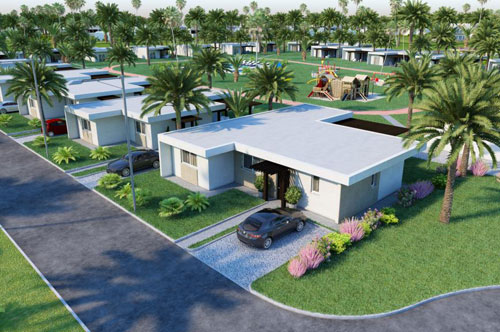 #10 New Build High Quality 1,2 and 3 bedroom villas in gated beachfront community